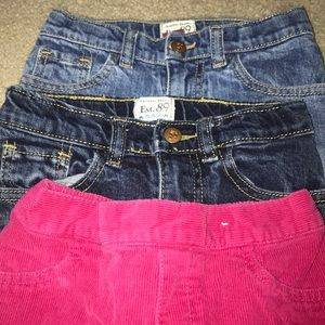 Other - Lot of Girls 5T pants.